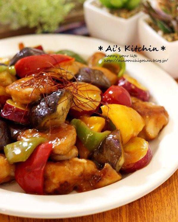 さつまいもの人気簡単レシピ《炒め・揚げ料理》3