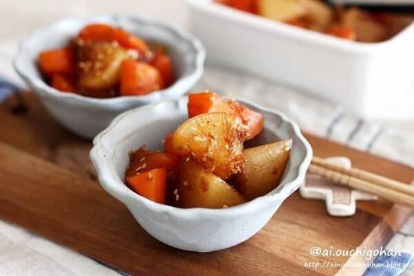 人参を使った人気の簡単料理《煮物》3