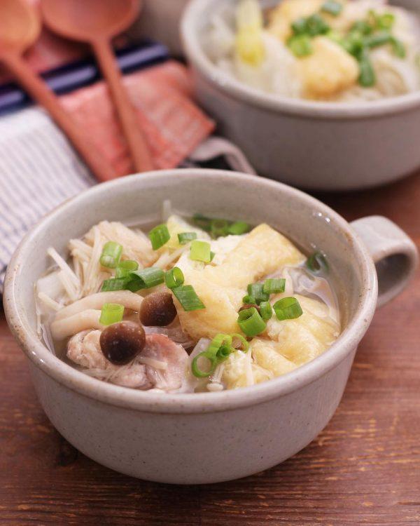 白菜漬けを使った簡単レシピ!さっぱりスープ煮