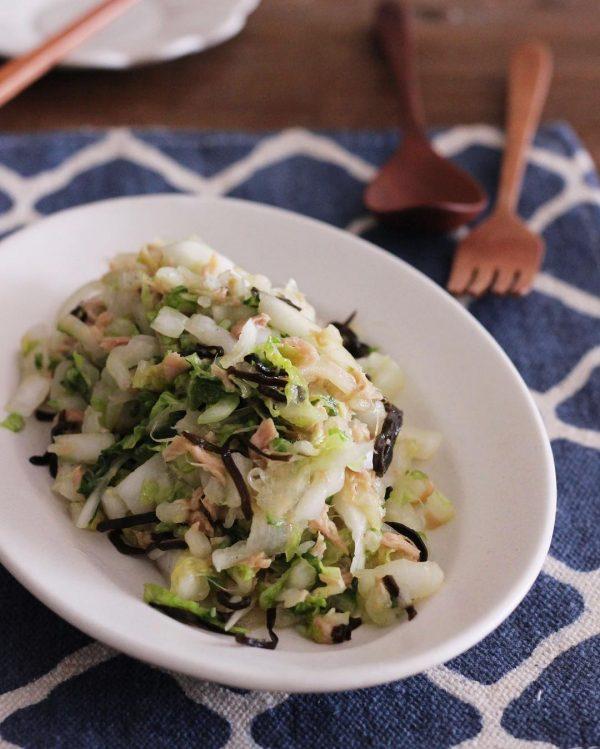白菜のやみつき人気レシピ!さっぱりサラダ