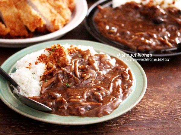 牛薄切り肉の簡単カレー