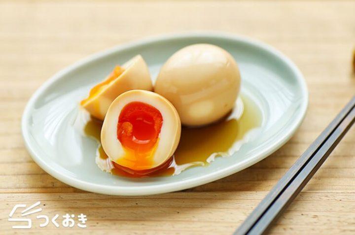 定番レシピ!和食に合う基本の煮卵(味玉)