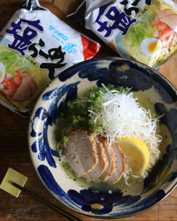 超簡単冷たい人気麺レシピ!冷し塩ラーメン