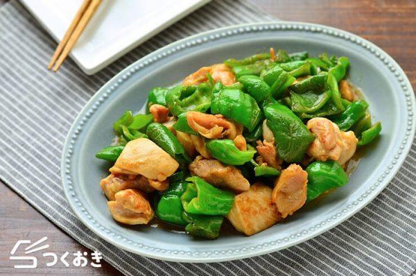 ピーマン料理☆人気の簡単レシピ《鶏肉の主菜》4