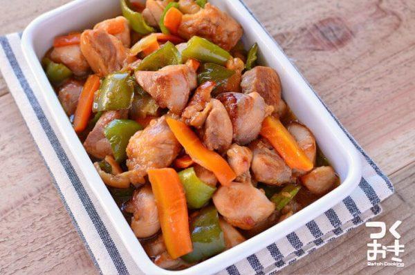 ピーマンの簡単な中華風レシピ☆お弁当10