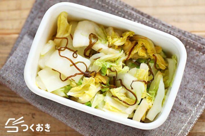 美味しい和食の副菜!白菜の即席漬け
