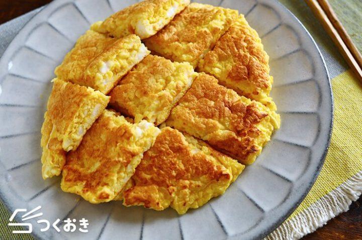 和食の人気料理!ふんわりはんぺん卵焼き