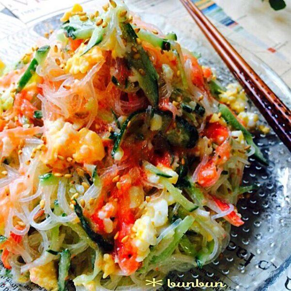 きゅうりの美味しい簡単レシピ《サラダ》5