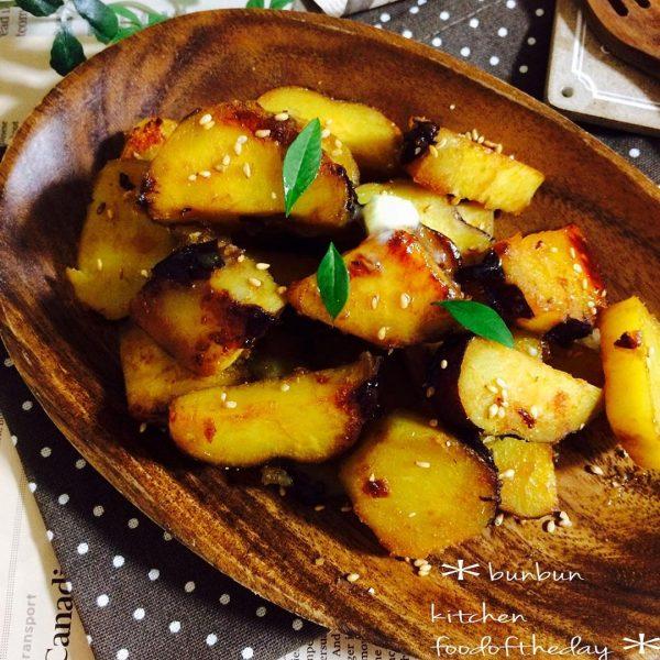 さつまいもの人気簡単レシピ《炒め・揚げ料理》2