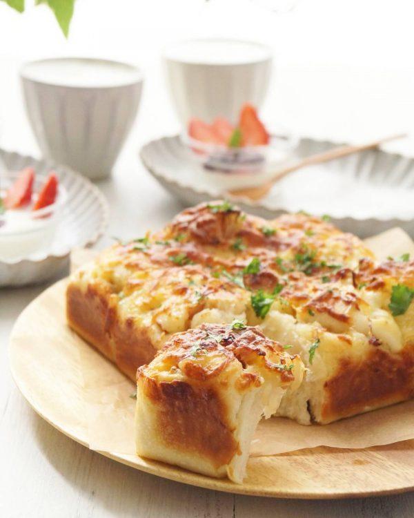 マヨネーズ大量消費!マヨネーズチーズちぎりパン