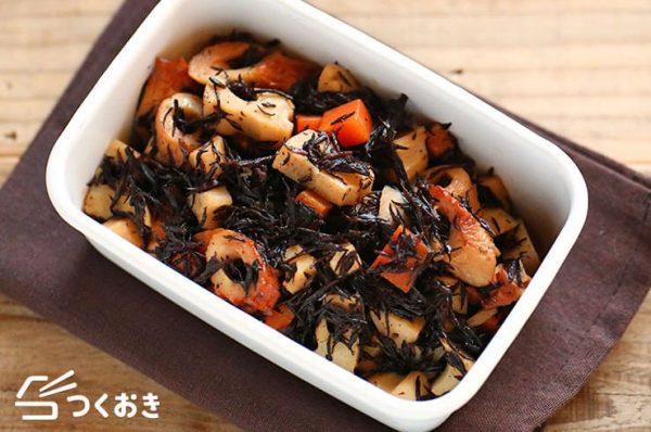ひじきの簡単な美味しい人気レシピ☆常備菜9