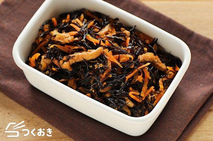 和食料理の定番に!簡単なひじきの煮物