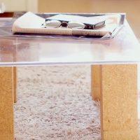 塩ビ板テーブルDIY