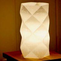 折り方障子紙ライトDIY