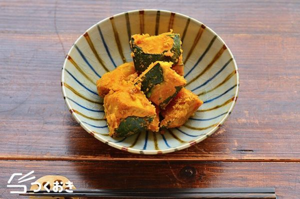 和食の献立に人気のかぼちゃレシピ☆お弁当4