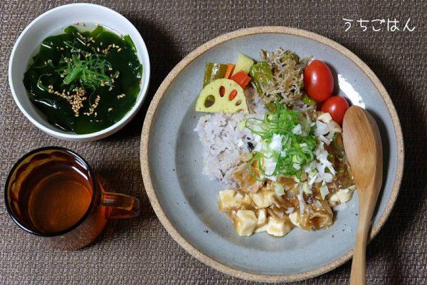 豆腐の簡単人気料理《ごはんもの》4