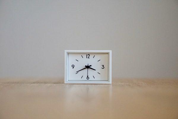 ミニ時計 マグネット付き