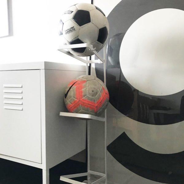 ボールは簡単に片づけやすく収納する