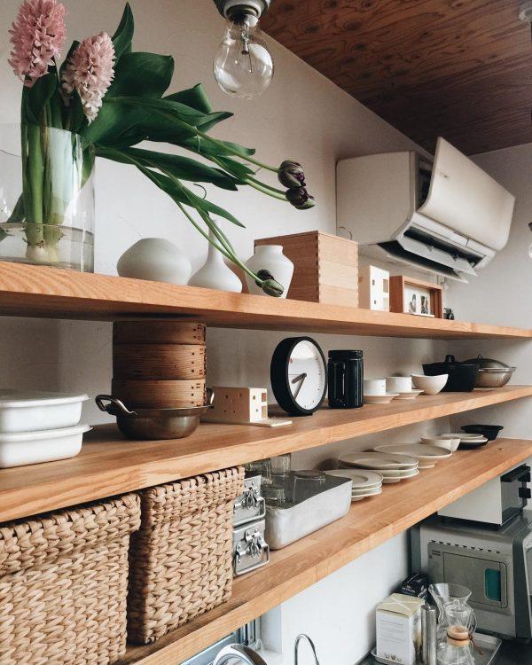 お気に入りのキッチンアイテムがインテリアに