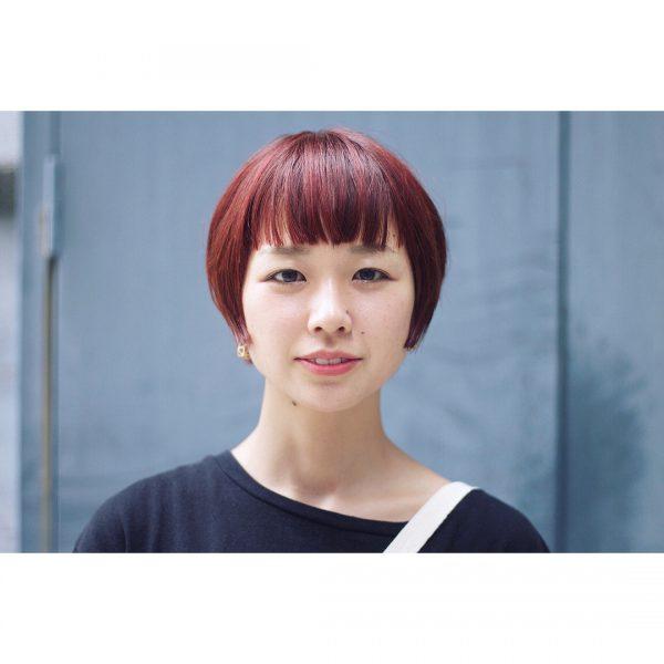 短い前髪×ベリーショート4