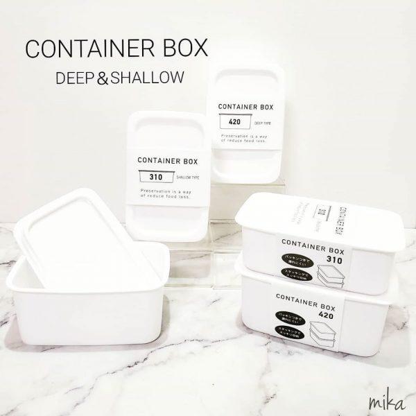 セリア キッチングッズ CONTINER BOX