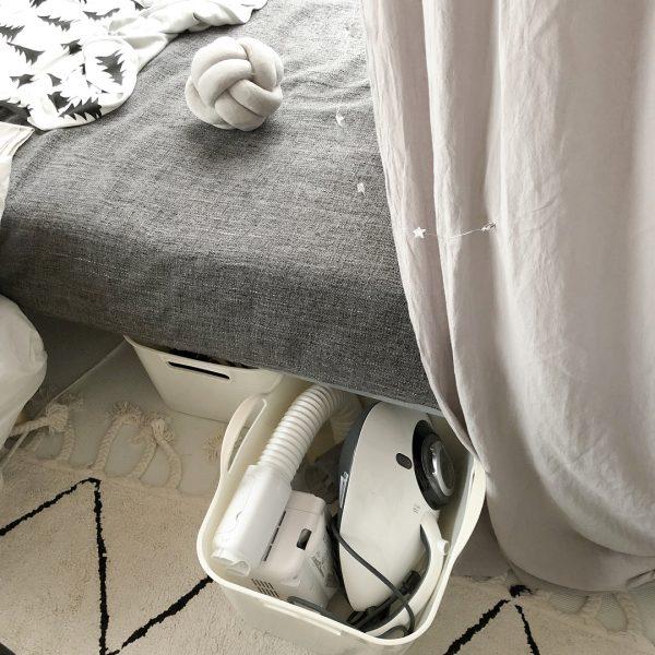 ベッド下スペース 収納4