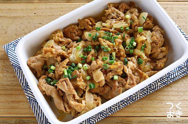 豚肉を使った簡単レシピ9