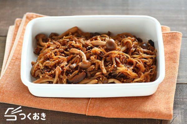 節約料理☆人気レシピ《副菜・きのこ》