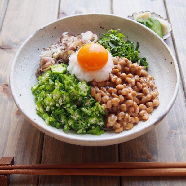 ねばねば冷たい麺レシピ!納豆おろし