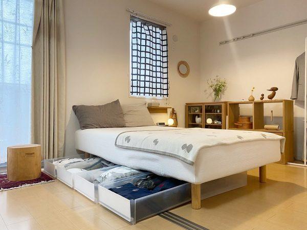 ベッド下スペース 収納9