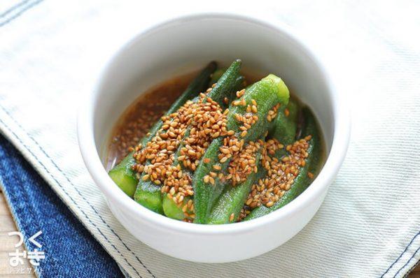 夏野菜で話題の人気レシピ☆オクラ3