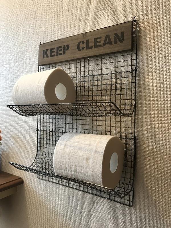 100均を使ったトイレ収納アイデア11