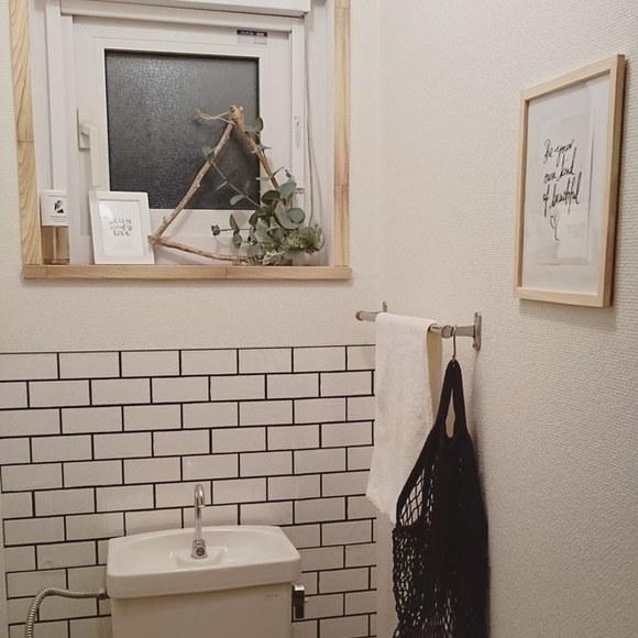 賃貸のDIYアイデア《トイレ》