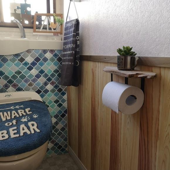 100均を使ったトイレ収納アイデア13