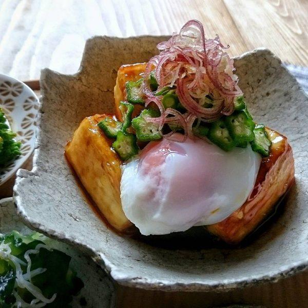 豆腐の簡単人気料理《主菜》4