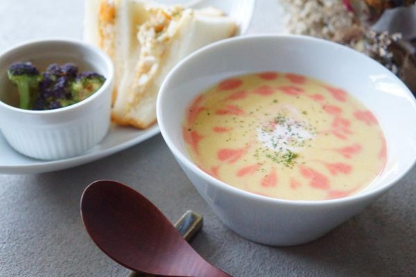 さつまいもの人気簡単レシピ《スープ料理》2