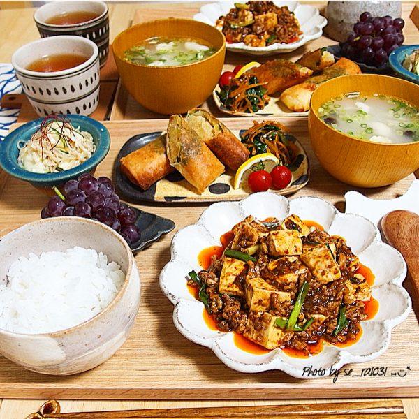 豆腐の簡単人気料理《主菜》