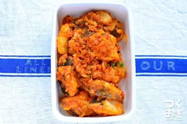 魚レシピでお弁当に!簡単タラのチリソース