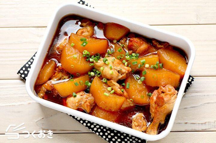 簡単な中華レシピ!手羽大根の柔らか煮