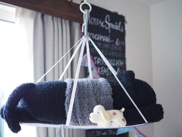 平干しする時に活躍する型くずれ防止セーター干しネット