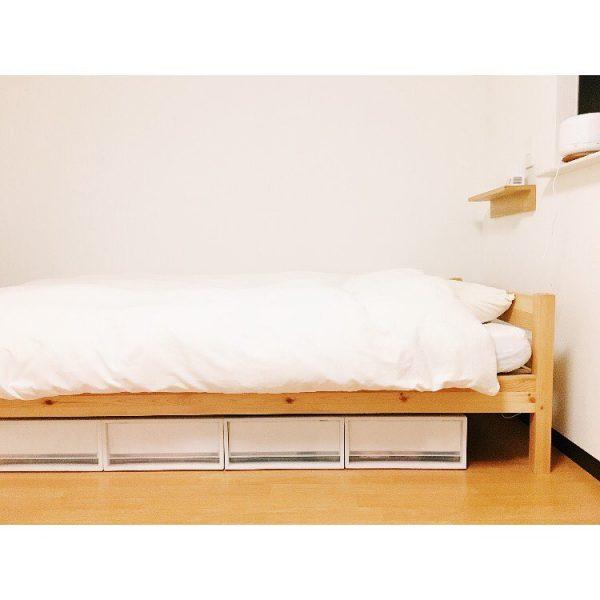 ベッド下スペース 収納8
