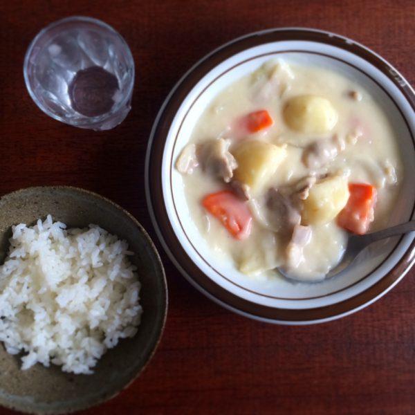 洋食の定番煮物料理②!クリームシチュー