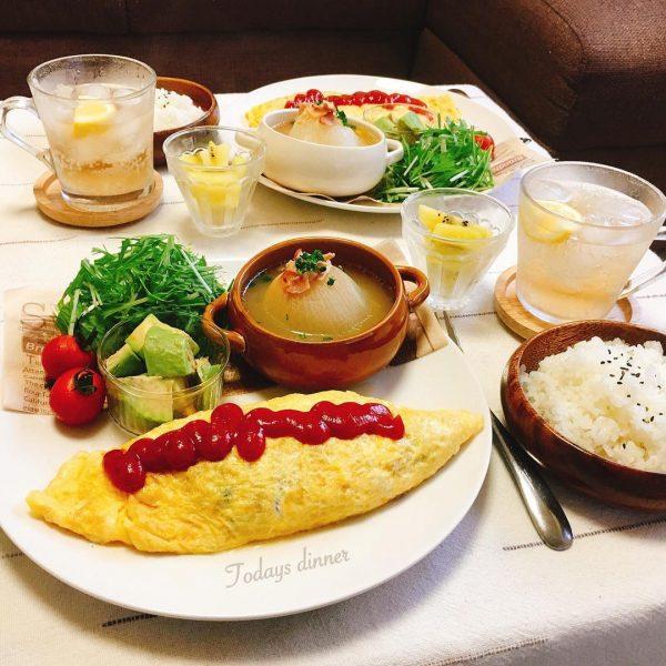 卵が美味しい洋食!ミートオムレツ
