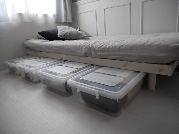 ベッド下スペース 収納10