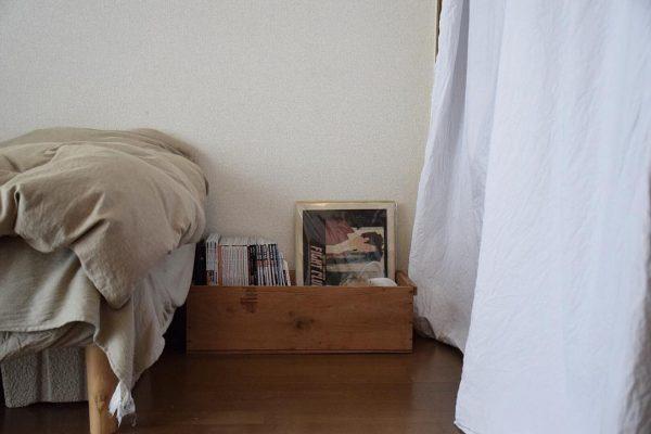 古い木箱がお洒落な収納アイテムに