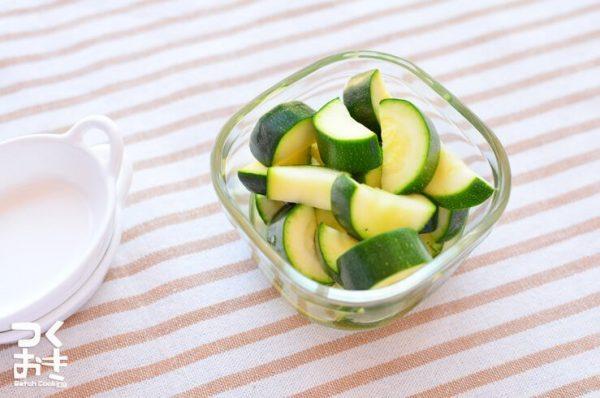 夏野菜で話題の人気レシピ☆ズッキー二4