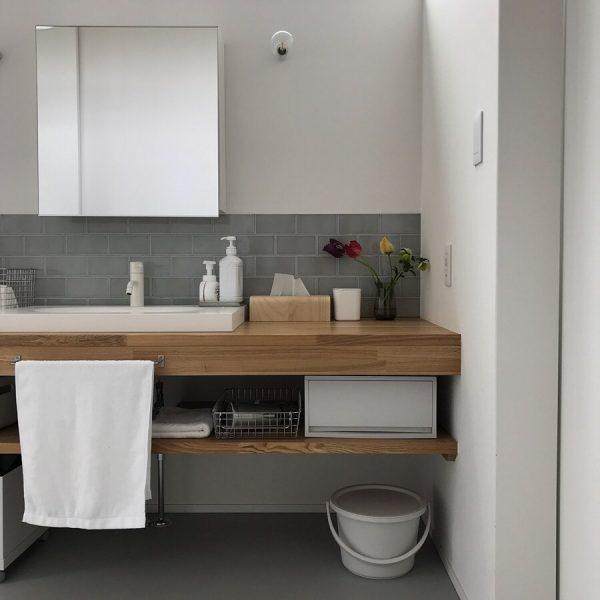 オープンな洗面台6