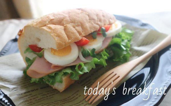 パンの美味しい朝食16