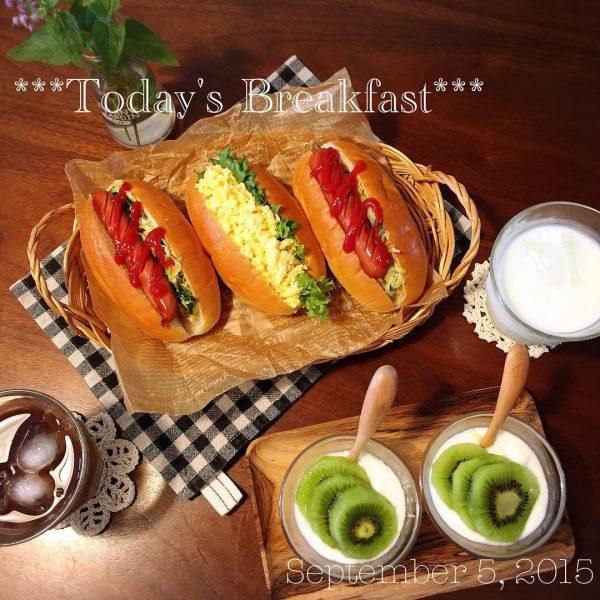 パンの美味しい朝食17