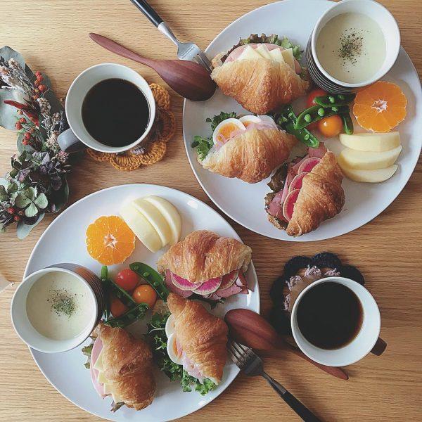 パンの美味しい朝食18